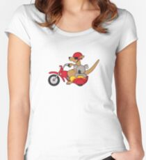 Born to be Wild2 Women's Fitted Scoop T-Shirt