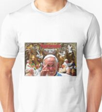 Pope Francis 2015 Philadelphia Visit-Cathedral Basilica of Sts. Peter and Paul background Unisex T-Shirt