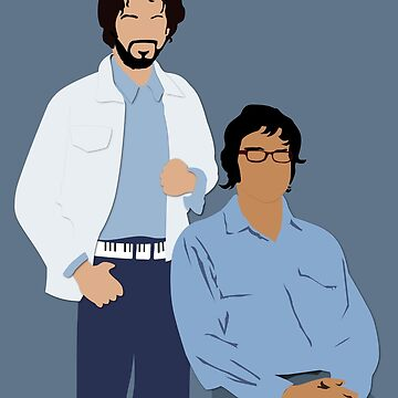 Flight of the Conchords by OutlineArt