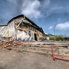 Destroyed By Fire - Possum Kingdom Texas by jphall