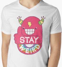 STAY WEIRD! Men's V-Neck T-Shirt