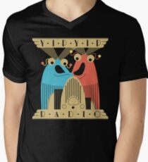 Yip-Yip Discover Radio! Men's V-Neck T-Shirt