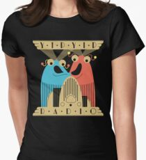 Yip-Yip Discover Radio! Women's Fitted T-Shirt