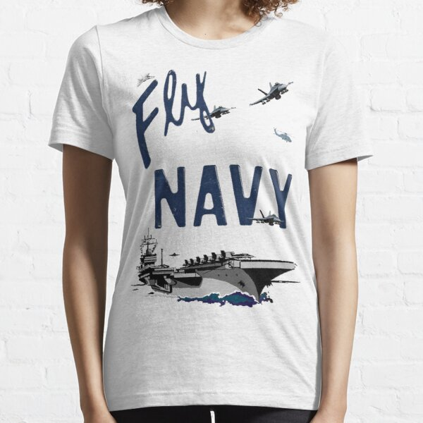 Fly Navy Essential T-Shirt
