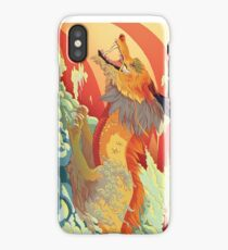 Golden scales iPhone Case/Skin