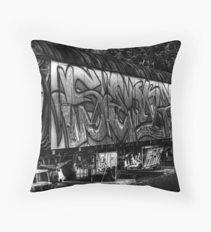 Used & Abused Throw Pillow
