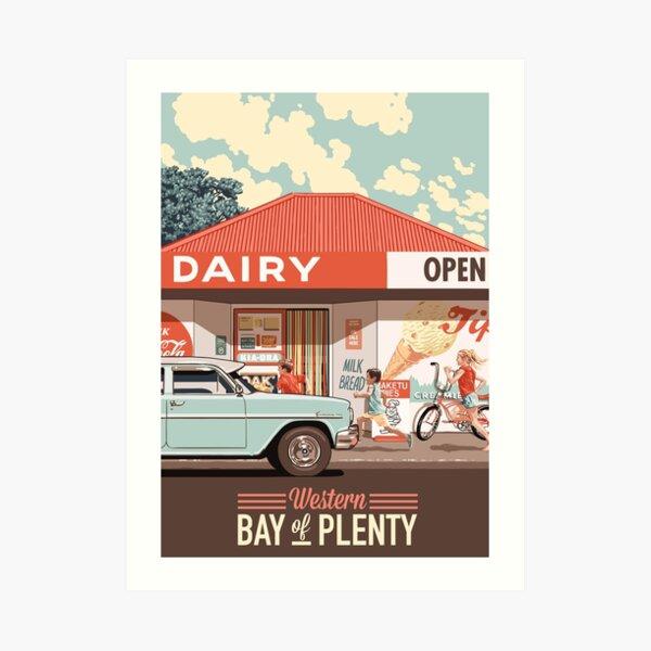 Corner Dairy Art Print