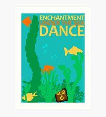 Enchantment Under The Sea Dance Design Art Print