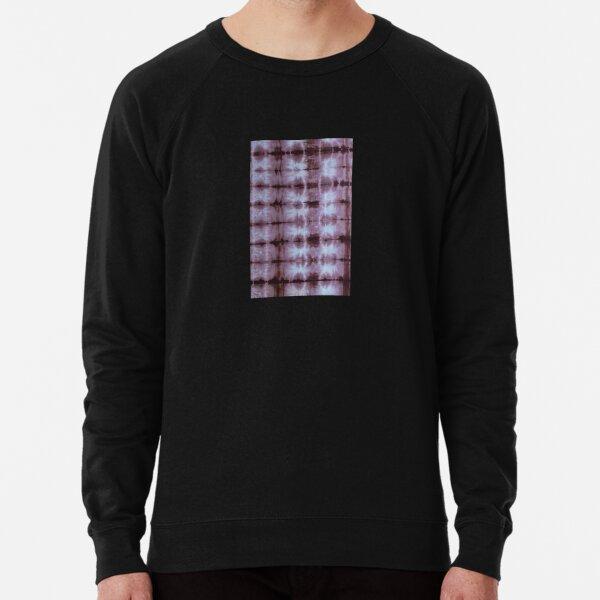 SKU555 Shibori Style - Chocolate 5 Lightweight Sweatshirt