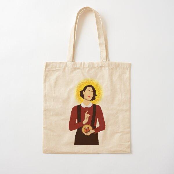 Simple Fleabag Cotton Tote Bag