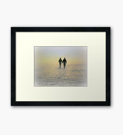 Love in a Mist. Framed Print