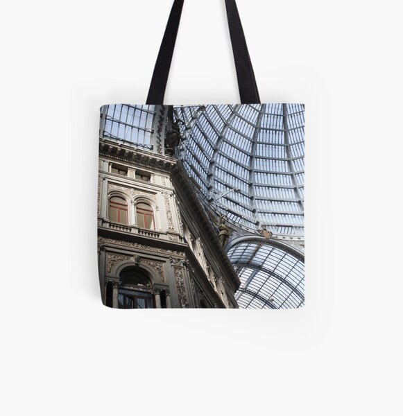 Galleria, Naples All Over Print Tote Bag