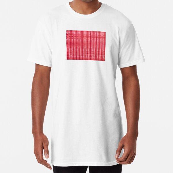 SKU606 Shibori Style - Red 15 Long T-Shirt