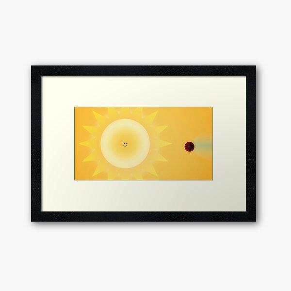 Hot Jupter Art Framed Art Print