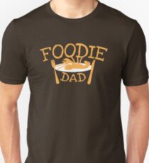 Foodie DAD with a plate T-Shirt