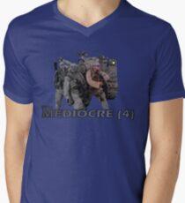 The Mediocre Four Mens V-Neck T-Shirt