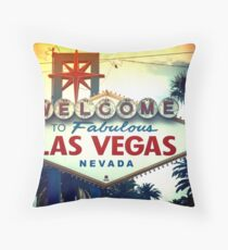Welcome To Fabulous Las Vegas Throw Pillow