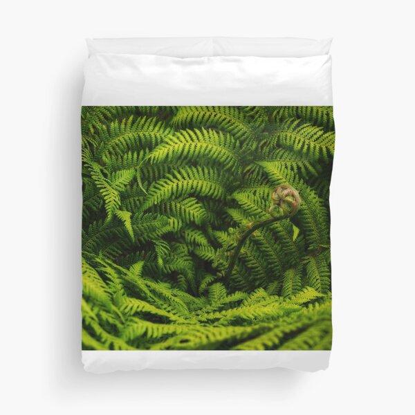 Tree Fern Duvet Cover