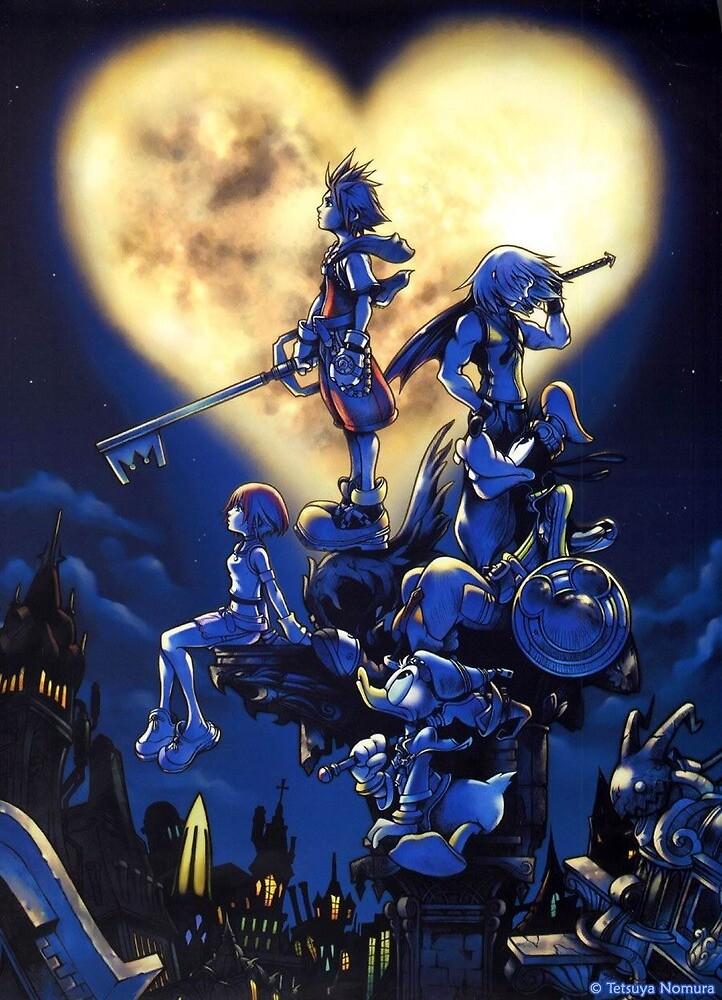Kingdom Hearts Box Art by arjunhair