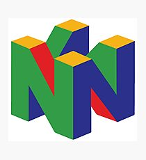 N64 Logo Photographic Print