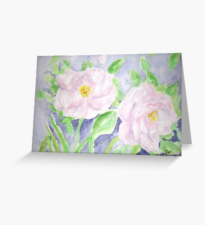 Happy Knockout Roses Greeting Card