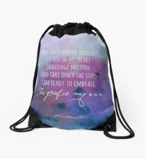 I will honor their lives Drawstring Bag