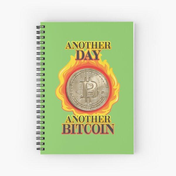 Bitcoin Investor. Spiral Notebook