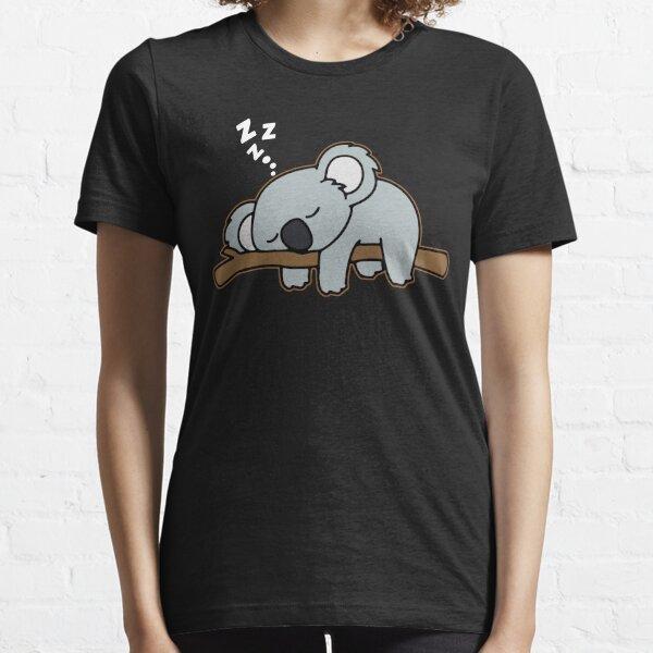 Agarra este lindo oso de koala durmiente Camiseta esencial