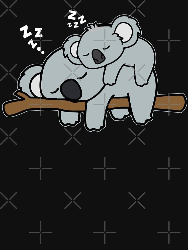 Agarra este lindo oso de koala durmiente de khaledokov