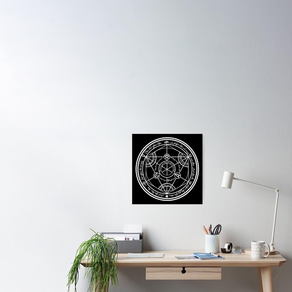 Human Transmutation Circle  Poster