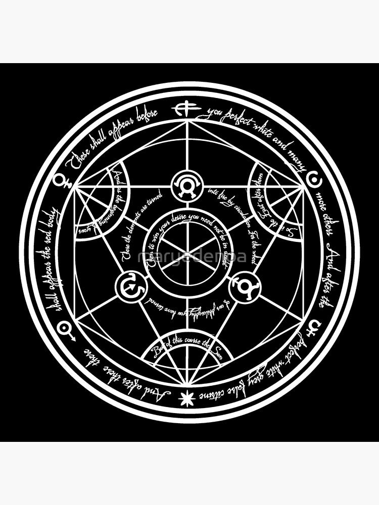 Human Transmutation Circle  by maryedenoa