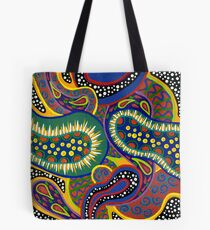 'Cellular' - Abstract mix of colour and design Tote Bag