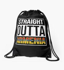 Straight Outta Armenia Drawstring Bag
