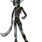 Elf Warrior Character by Vicki Lau