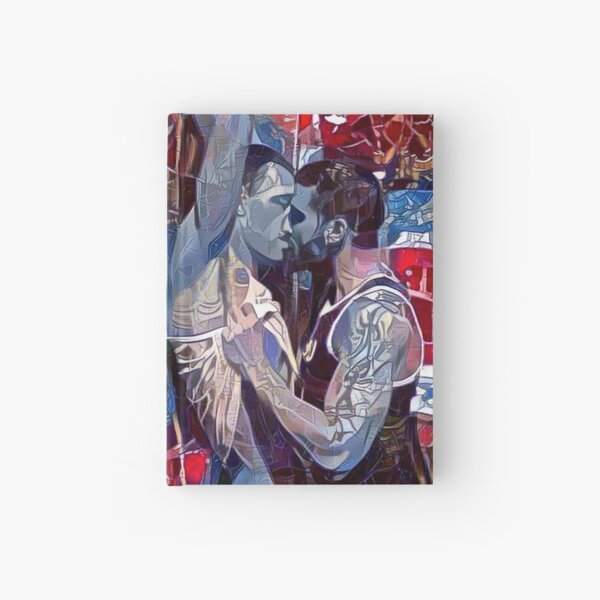 Against The Wall Hardcover Journal