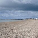 The beach Hythe Kent by Beatrice Cloake