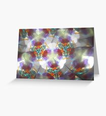 Kaleidescope 30 Greeting Card