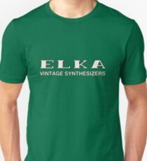Vintage Elka Synthesizers T-Shirt