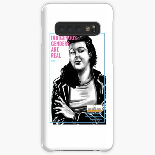 Indigenous Genders Are Real - Transgender Diversity Poster Samsung Galaxy Snap Case
