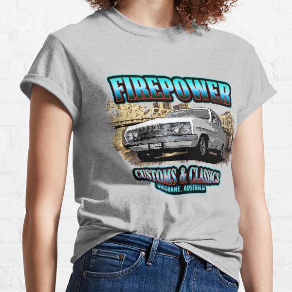 Firepower Customs and Classics Souvenir Brisbane HR Sedan  Classic T-Shirt