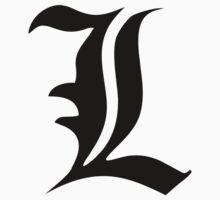 Death Note: L (Black) | Unisex T-Shirt