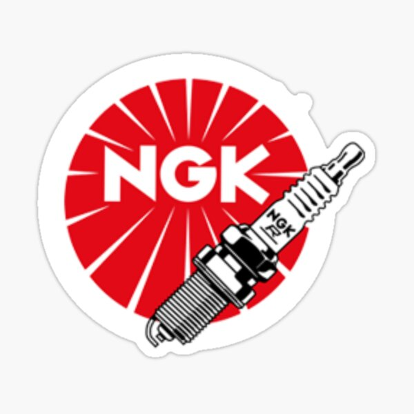 JDM Spark Plugs, NGK Racing Sticker