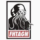 Cthulhu Fhtagn by merrypranxter