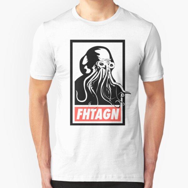 Cthulhu Fhtagn Slim Fit T-Shirt