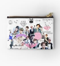 BTS/Bangtan Sonyeondan - Collage Zipper Pouch