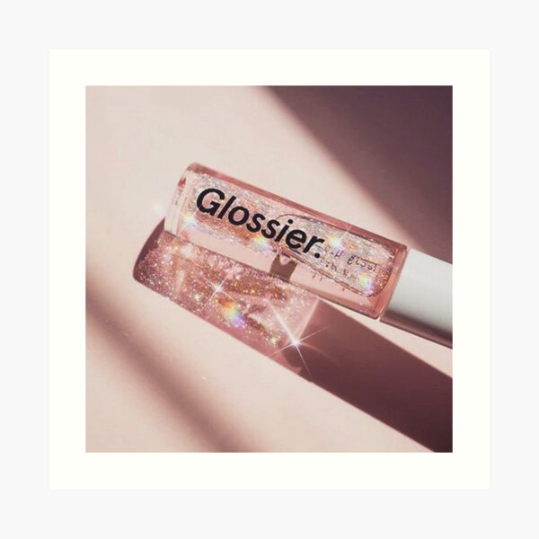 glossier Art Print