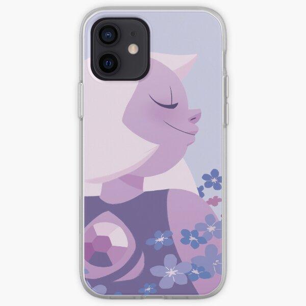 Pastel Amethyst portrait iPhone Soft Case