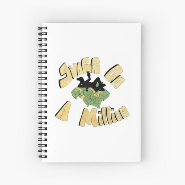 Untitled 9 by Rhaim Santiago  Spiral Notebook