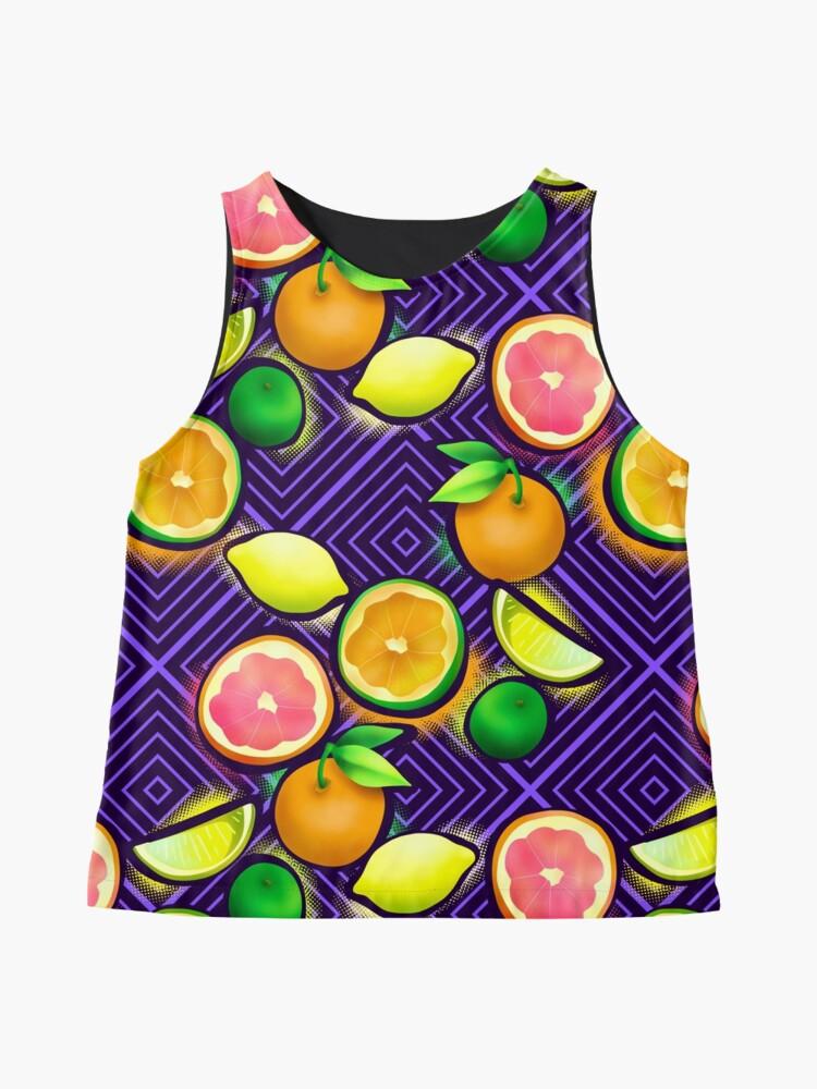 Alternate view of Lemonade geo violet Sleeveless Top