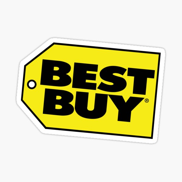 Best Seller Best Buy Logo Merchandise Sticker